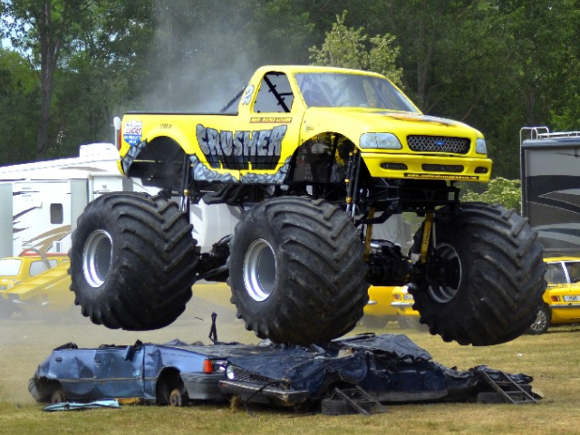 spectacle monster truck en france